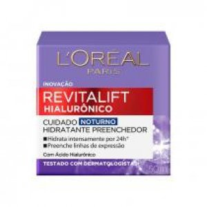 L'oréal Paris Revitalift Hialurônico Tratamento Noturno