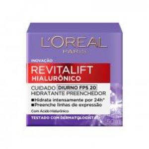 L'oréal Paris Revitalift Hialurônico Fps 20 Tratamento Diurno
