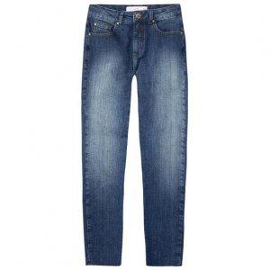Calça Jeans Skinny Cintura Média Alta