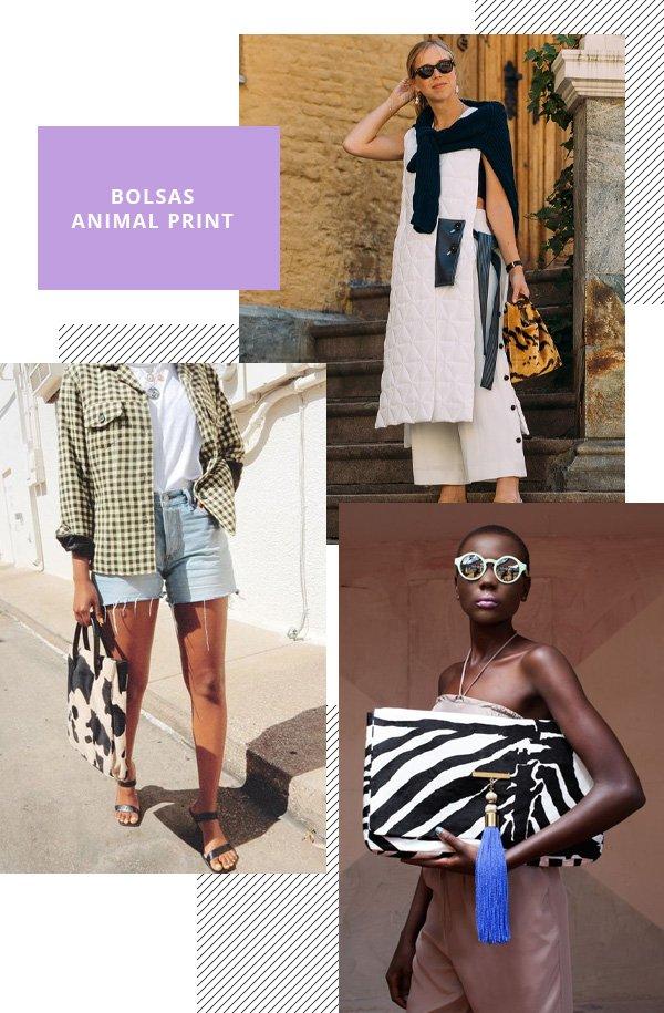 Aarica Nichole - bolsa animal print - animal print - verão - street style