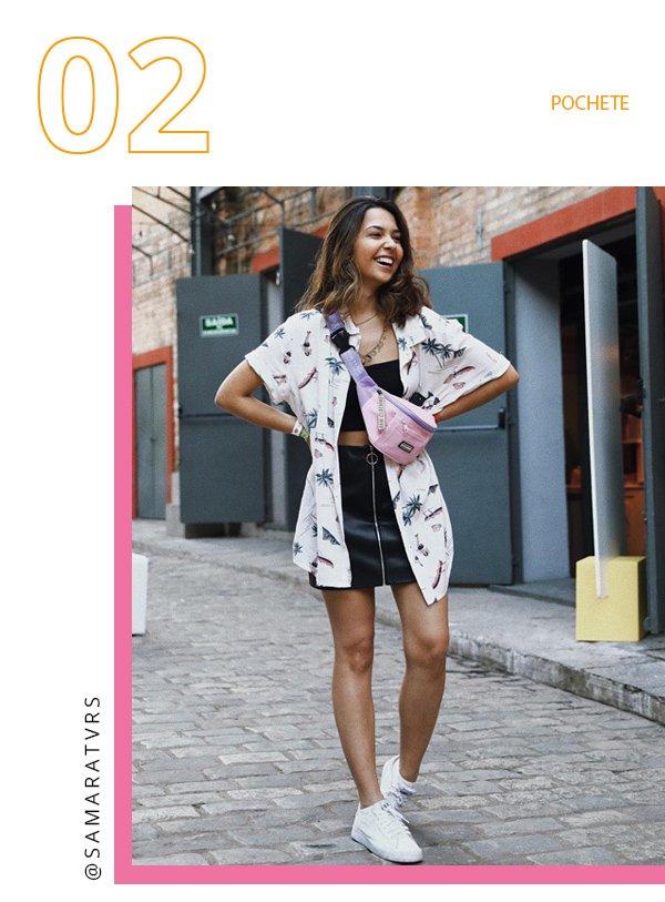 It girl - Pochete - Pochete - Inverno - Street Style