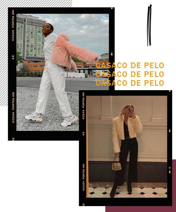 It girls - Casaco de pelo - Casaco de pelo - Inverno - Street Style