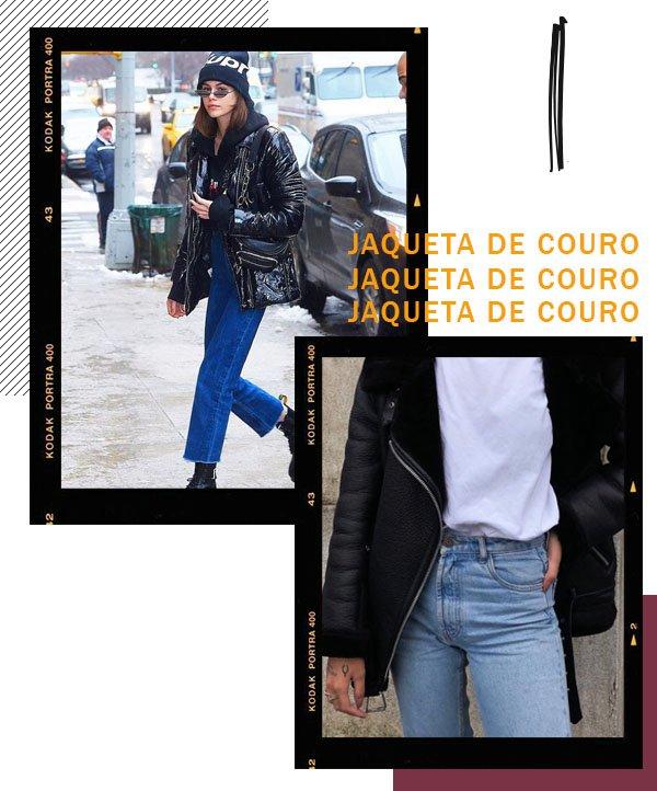 It girls - Jaqueta de couro - Jaqueta de couro - Inverno - Street Style