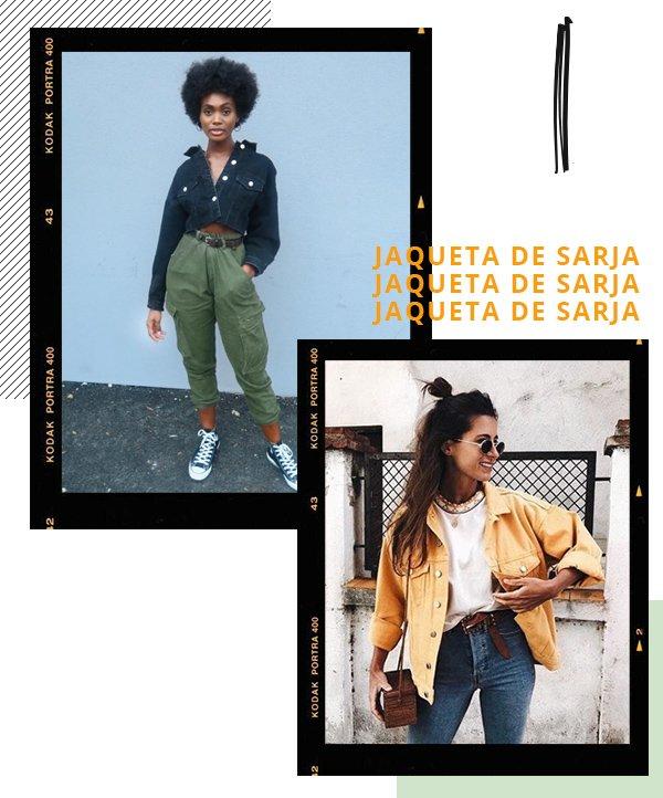 It girls - Jaqueta - Jaqueta de sarja - Inverno - Street Style