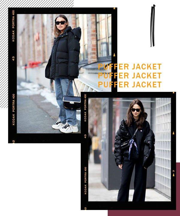 It girls - Puffer Jacket - Puffer Jacket - Inverno - Street Style
