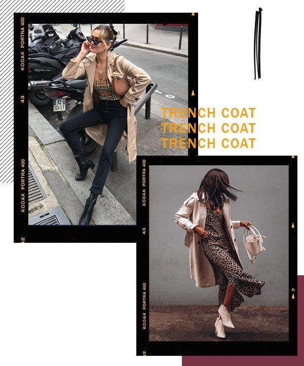 It girls - Trenchcoat - Trenchcoat - Inverno - Street Style