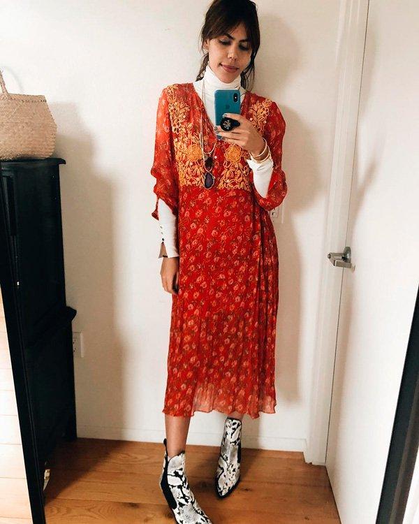 Catharina Dieterich - vestido - sobreposição - inverno - street-style