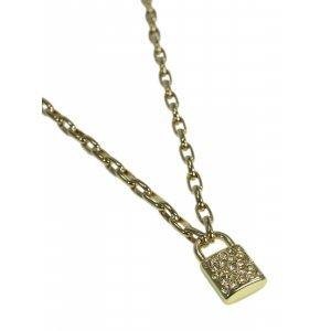 Colar Mini Padlock Gold - U Dourado