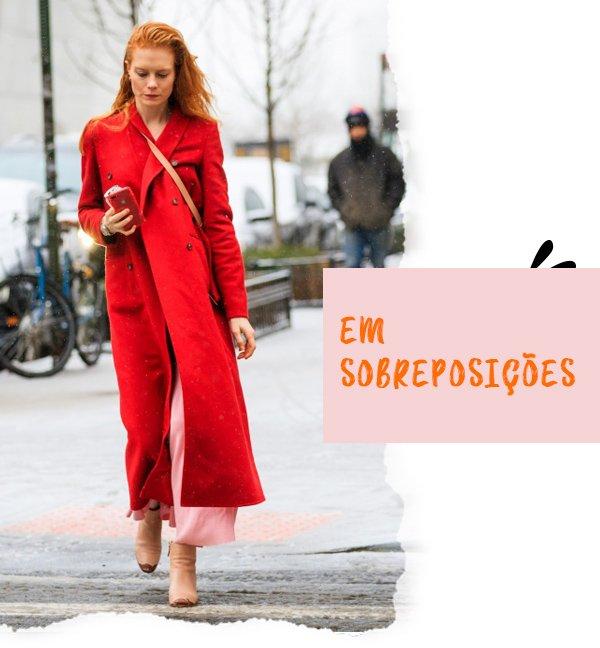 It girl - overcoat - overcoat - Inverno - Street Style