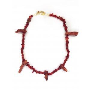 Coral Necklace - U Rosa