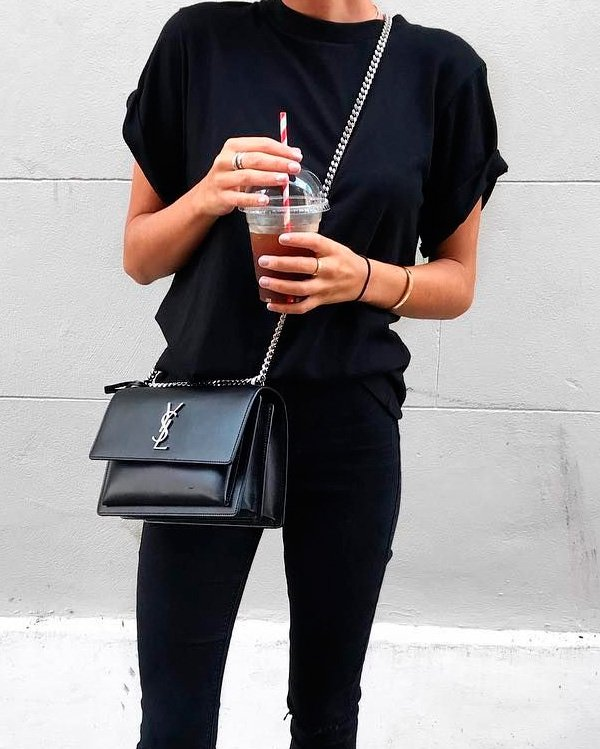 it-girl - all-black - all-black - inverno - street-style