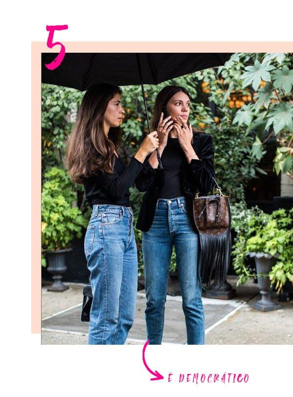 It Girls - Calça cintura alta - Calça cintura alta - Inverno - Street Style
