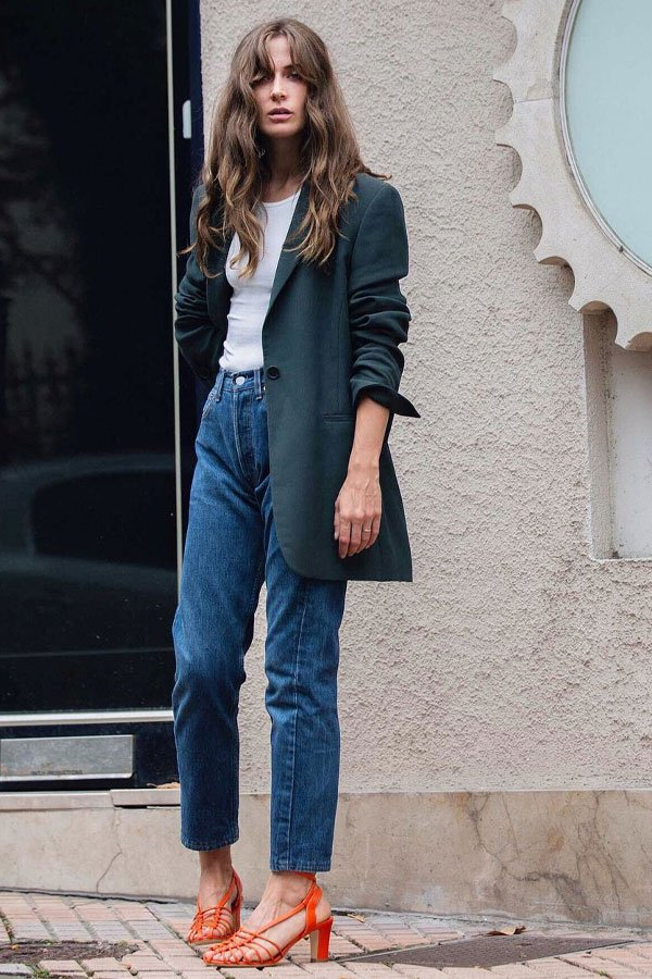 Emma Elwin - mom jeans  - mom jeans - inverno - street style