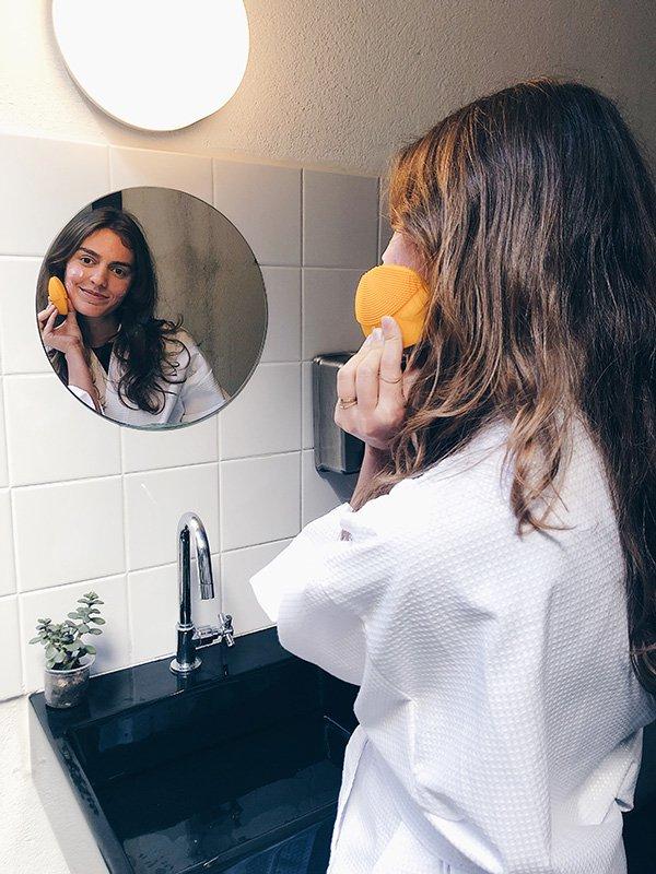 Isabella Aredes - FOREO - Luna Mini 2 - skincare - pele