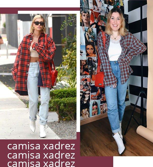 It girls - Camisa xadrez - Camisa xadrez - Inverno - Street Style