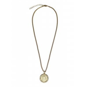 Colar Gold Coin - U Off White
