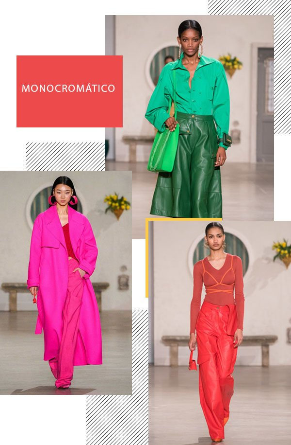 It girls - Jacquemus - Monocromático - Inverno - Street Style