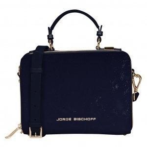 Bolsa box tiracolo azul carbono I19