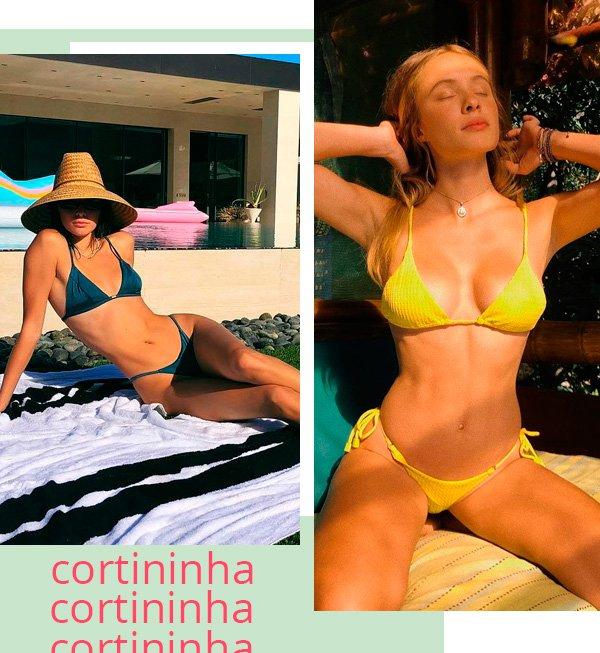 Kendall Jenner, Lais Oliveira - biquini - biquini - verão - street-style