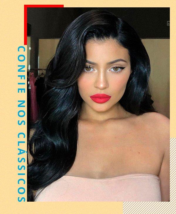 Kylie Jenner - make - make - inverno - street-style