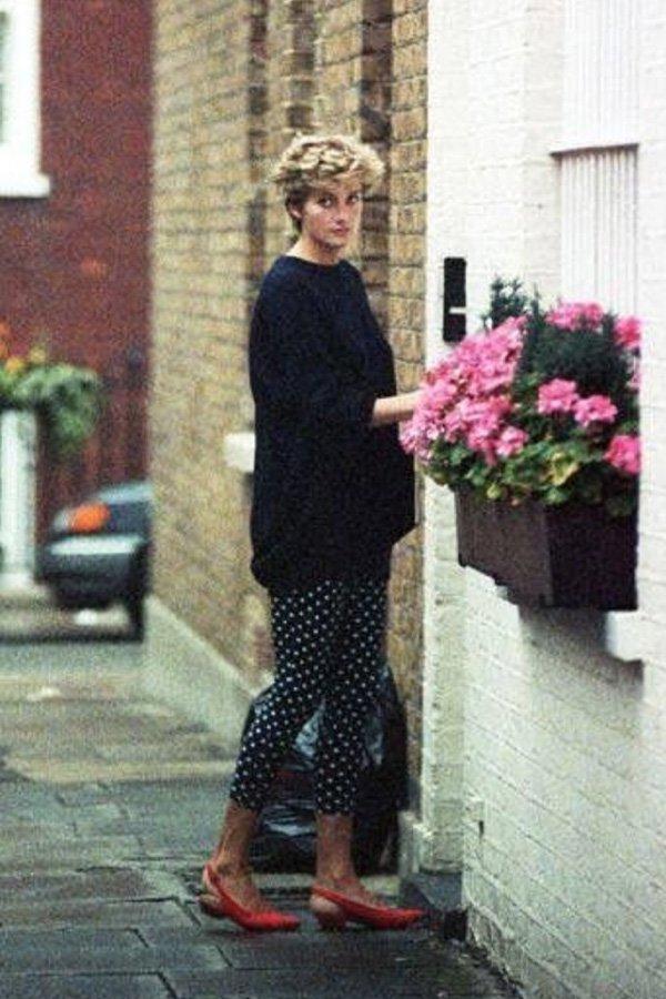 Lady Diana - calça poá - calça  - inverno - street style
