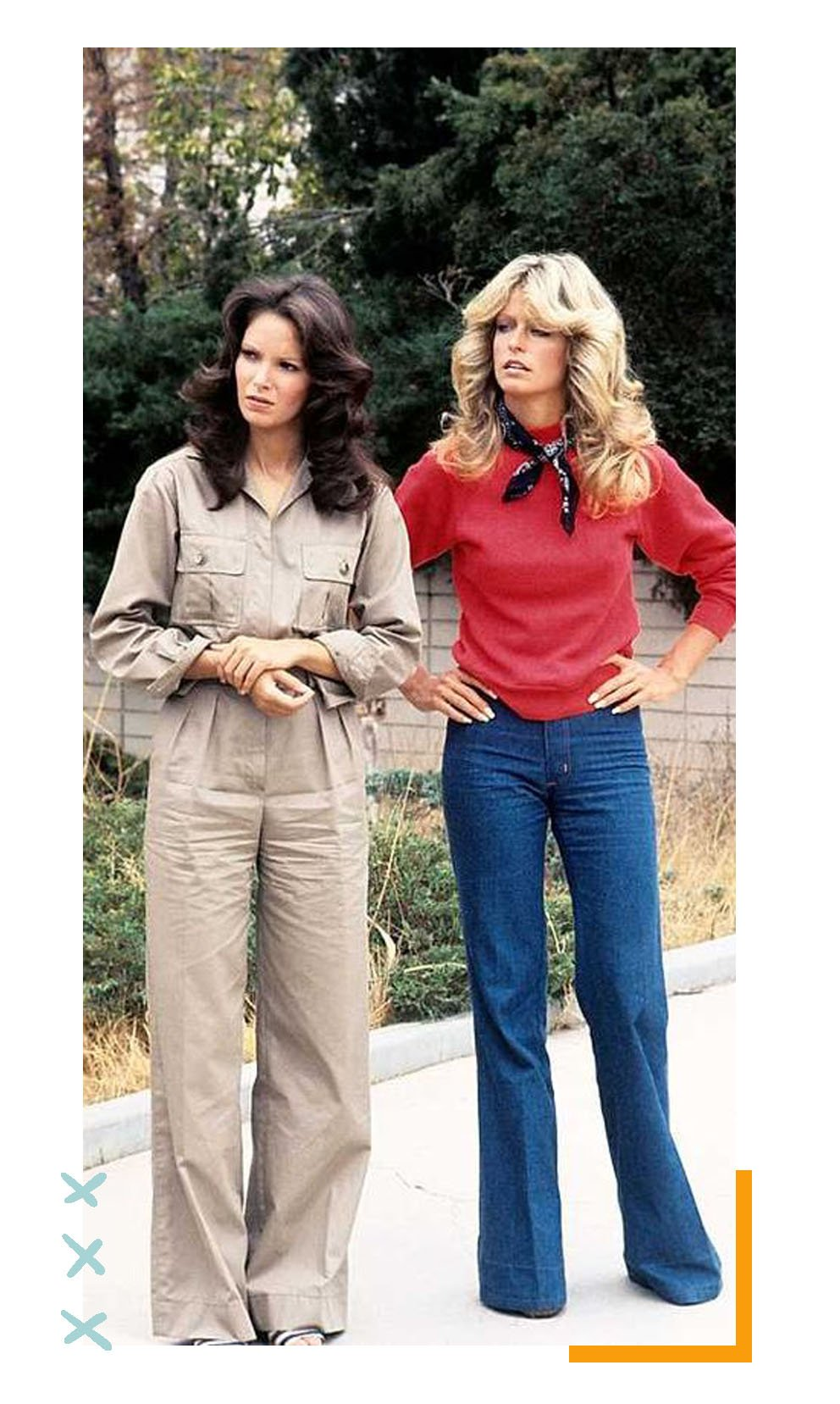 It girl - Anos 70's - Anos 70's - Inverno - Street Style