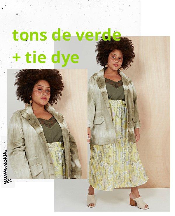 modelo - tie-dye - tie-dye - primavera - set