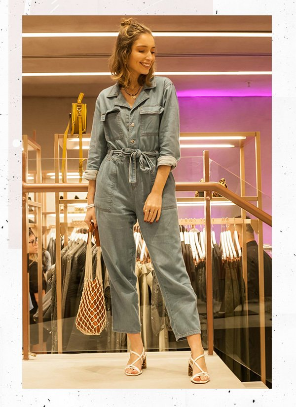 it-girl - macacão-jeans - jeans - inverno - shopping iguatemi