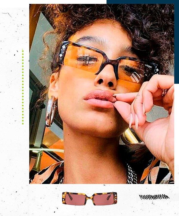 look - vogue - gigi hadid - oculos - coleção