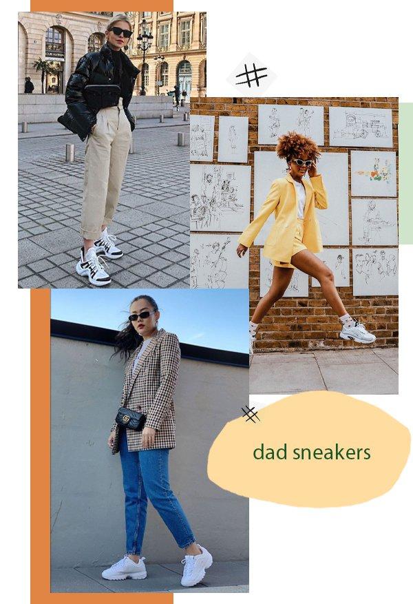 dad sneakers - dad sneakers - tênis - verão - looks