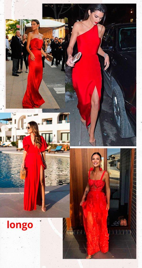 Alessandra Ambrosio, Kendall Jenner - vestido-vermelho - vermelho - inverno - street-style