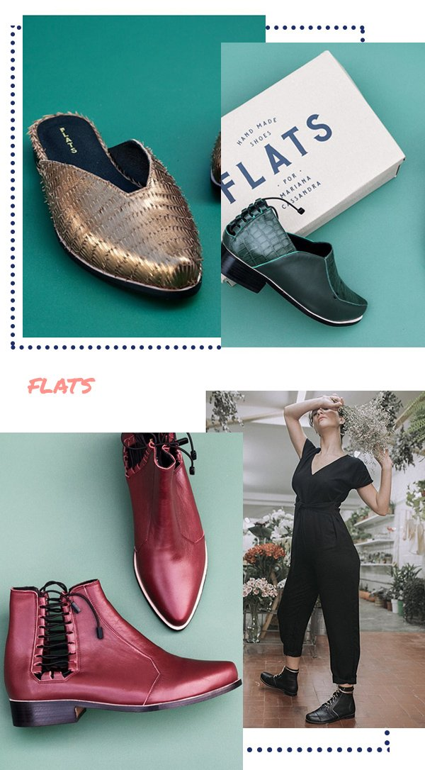 It girls - Flats - Flats - Inverno - Street Style