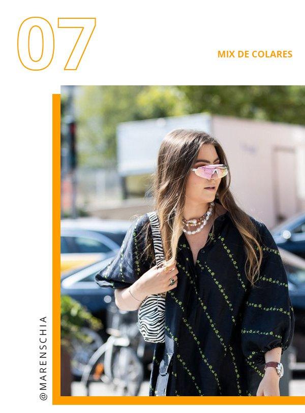 Maren Schia -       - mix de colares - verão - copenhagen fashion week