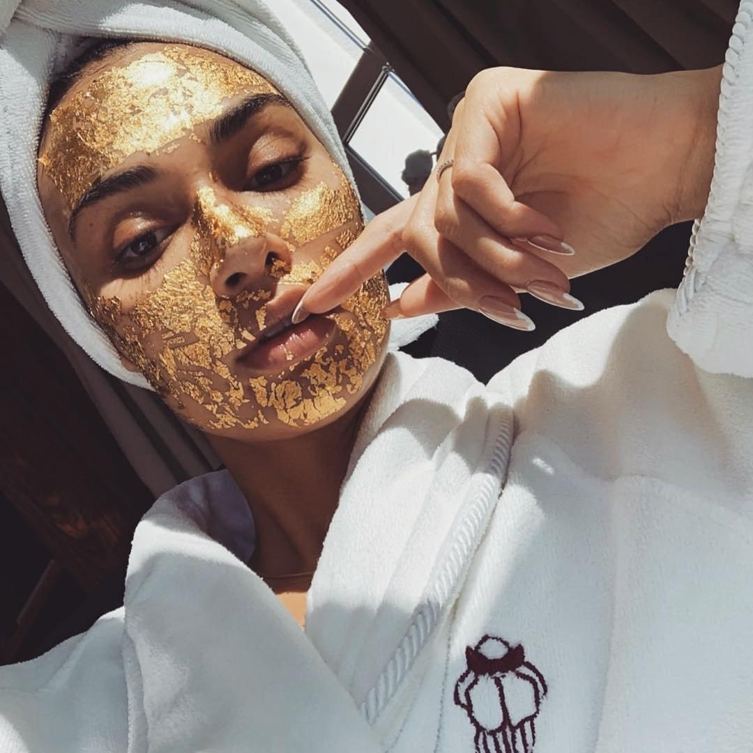 It girl - Roupão - Skincare - Inverno - Street Style