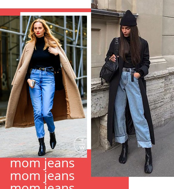 It girls - Mom jeans - Mom jeans - Inverno - Street Style