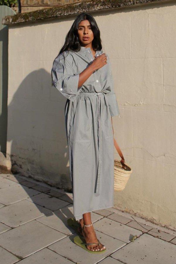 Monikh Dale - vestido chemise - vestidos - meia estação - street style