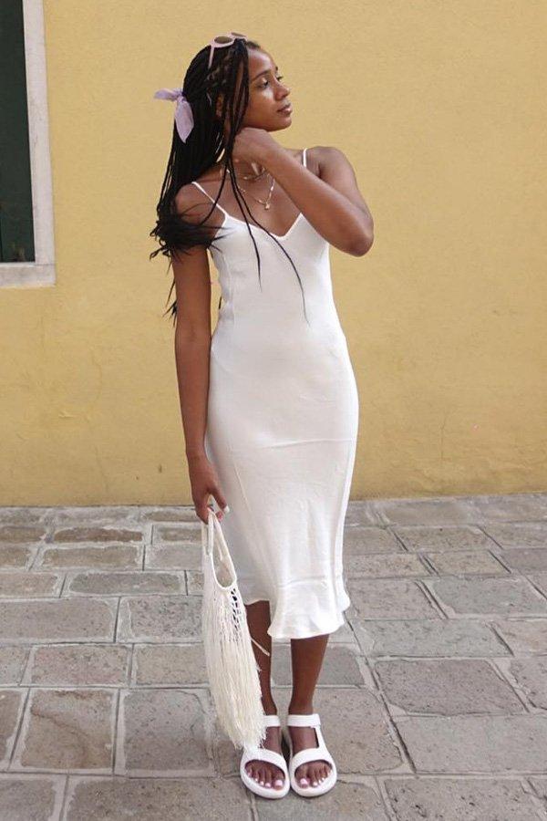Naomi Elizée - vestido slipdress - vestidos - meia estação - street style