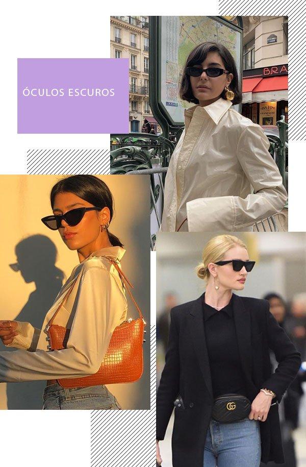 It girls - óculos escuros - óculos escuros - Inverno - Street Style