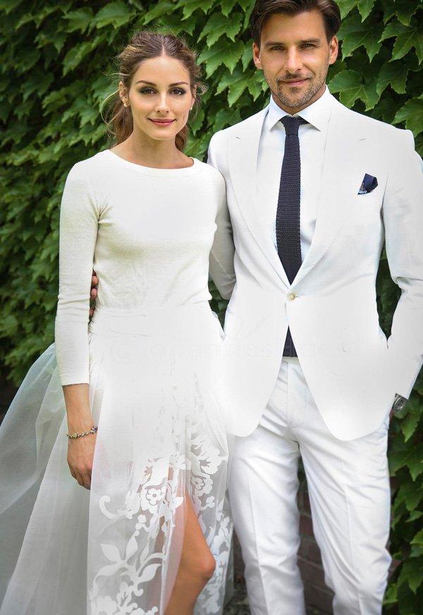 Olivia Palermo - vestido-de-noiva - noiva - inverno - street-style