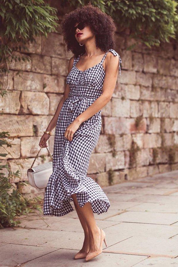Samio - vestido vichy - vestidos - meia estação - street style