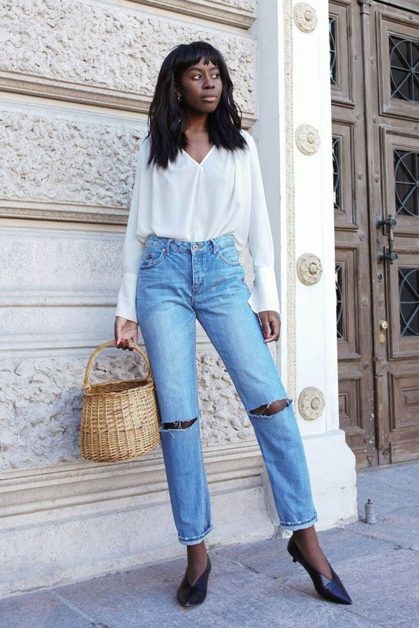 Sylvie Mus - mom jeans - mom jeans - inverno - street style