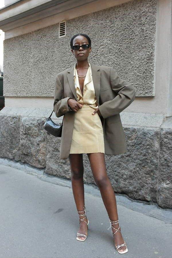 Sylvie Mus - calça e sandália aberta - sapatos office look - inverno - street style