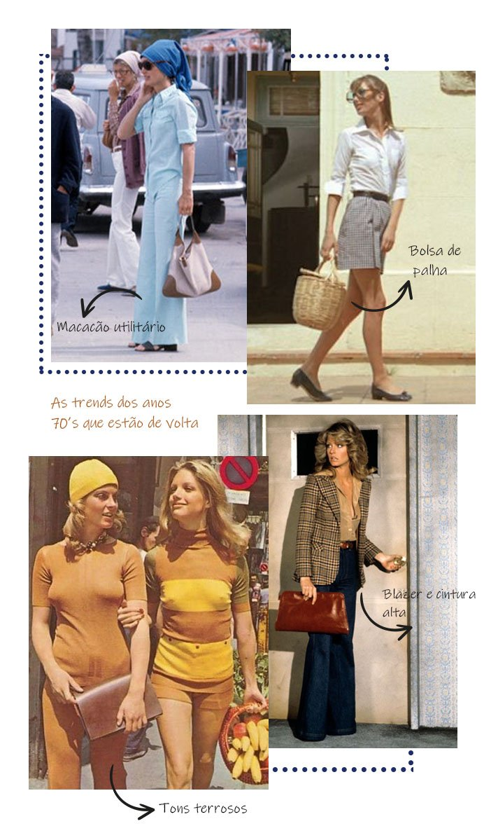 It girls - Anos 70's - Anos 70's - Inverno - Street Style