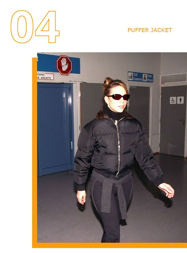 Mariah Carey  - Puffer Jacket - Puffer Jacket - Inverno - Street Style