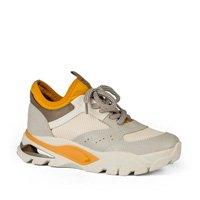 Tênis Dakota Dad Sneaker Branco e Amarelo