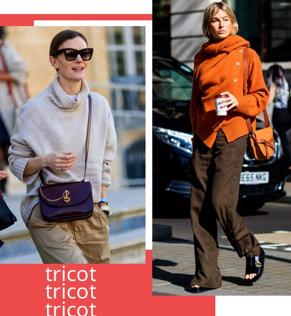 It girls - Tricot - Tricot - Inverno - Street Style
