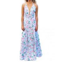 Vestido Miesse Toscana Estampado Azul