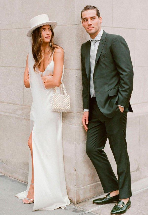 Rachel Barnes - vestido-de-noiva - noiva - inverno - street-style