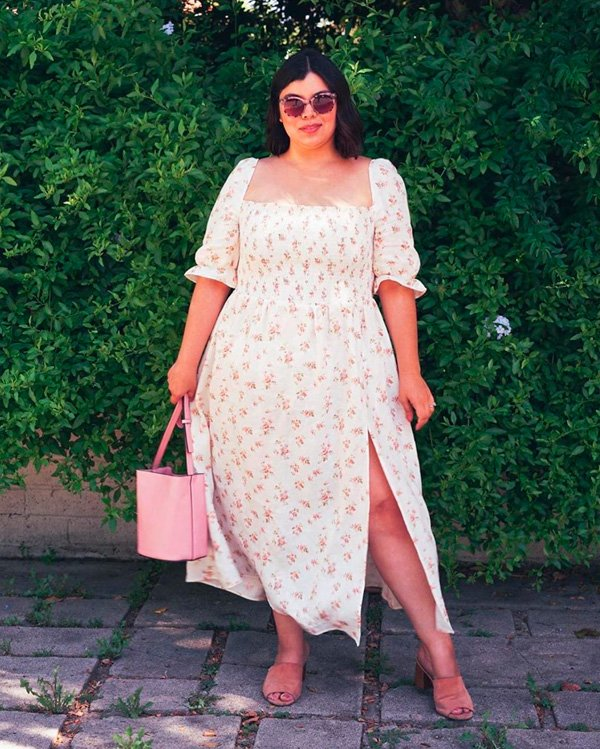 it-girl - vestido-floral - floral - inverno - street-style
