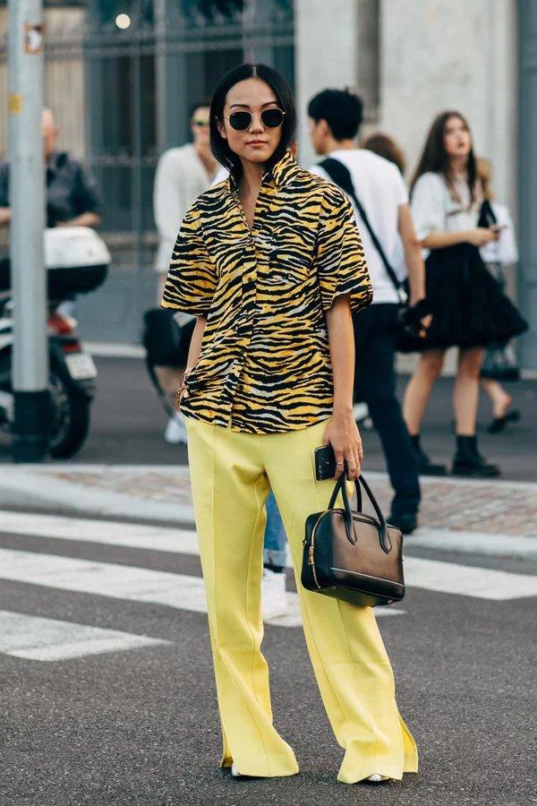 Yoyo Cao -      -      - verão - street style